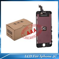 iphone parts - Good Original LCD Digitizer iPhone5 Repair Part For iphone C LCD Glass Touch Screen For Cell Phone Parts G S