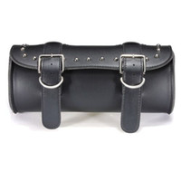 Wholesale FEER SHIPPING NEW PU LEATHER MOTORCYCLE BIKE GEAR TOOL BAG