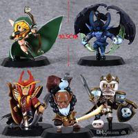 Wholesale 5pcs Cute quot DOTA Jugg Wraith King WR Sil Set nd Ver cm Boxed PVC Action Figure Model Toy per set