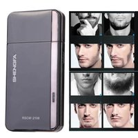 Wholesale V RSCW Electric Reciprocating type Shaver Shaving Beard Black K5BO