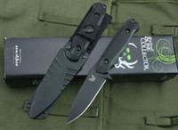 survival knife - New arrival Benchmade Bone collector A27 D2 Blade knife ABS Handle Survival knives