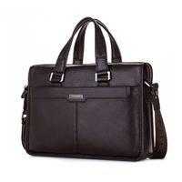 ad artwork - 2016 New Man Handbag Genuine Leather Business Messenger Bag Men Computer Shoulder Bag delicate ad luxurious maleta briefcase