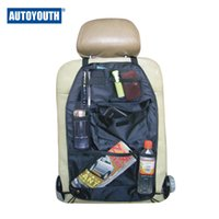 Wholesale Auto Youth High Quality Car Seat Back Zhiwu Dai Bags Multifunction Car Back Cushion Vehicle Storage Bags Grocery Bags Black