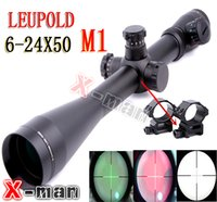 Rifle Scopes 6-24x50 - Leupold Mark4 x50 R G Illuminated Optical Rifle Scope Sight Scope