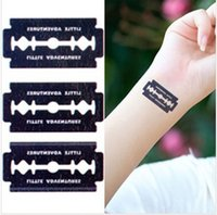 angels eyes pack - 6pcs pack Necklace and Bracelet Temporary Tattoos angel cat
