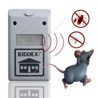 Wholesale New Riddex Plus Ultrasonic Electronic Pest Rodent Repeller SV001561