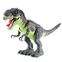 Wholesale Kids Toys Dinosaur Models Walking Sounding Glowing Dinosaur Electric Toys