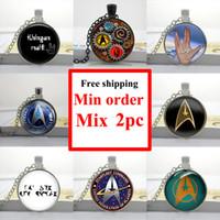 best friends photo - NS Star Trek Necklace Star Trek Pendant Necklace best friend gift Glass Photo Cabochon Necklace