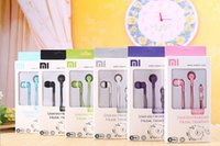Wholesale High Quality XIAOMI Earphone Headphone Headset With Mic For XiaoMI M2 M1 S Samsung iPhone Universal With retail package Colorful