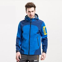 Wholesale 2015 New Mens Soft Shell Fleece Jacket Warm Waterproof Windproof Fleece Coat Men Ski Suits Outdoor Sport Jackets S XL MS20G5