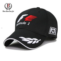 Wholesale 2015 Outdoor Men World Champinship Formula Racing Cap Sports Male Baseball Cap Car Motorcycling Visors Sun Hat Black Freeship