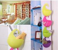 Wholesale Creative Household Storage Basket Multi Purpose Plastic Hanging Basket