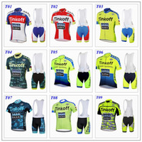 cycling jersey bib shorts - 2015 tour de france cycling jerseys Bike Suit pro cycling jersey Tinkoff saxo bank colors cycling jersey short Bib Pants size XS XL