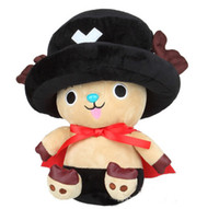 best choppers - 60pcs Genuine One Piece Luffy plush toy chopper doll Tuba rag doll children best gifts hql