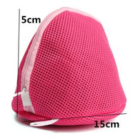 Wholesale Women Bra Laundry Washing Bag Lingerie Hosiery Wash Saver Protect Aid Mesh Bag Cube Pouch New