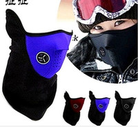 Wholesale New Colors Bike Motorcycle Ski Snowboard Neck Warmer Face Mask Veil Cover Sport Snow Mask A01089