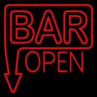 arrow eagle - HOT Eagle quot x24 quot Bar Open With Arrow Red Real Glass Neon Light Signs Bar Pub Restaurant Billiards Shops Display Signboards