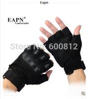 Wholesale 2014 Fashion Eapn half finger glove male outdoor Blackhawks slip Korean men s cycling tactical training Fitness Gloves