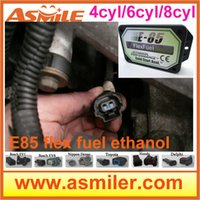 Wholesale E85 ethanol car conversion kit with cyl DHL EMS free price from Asmile