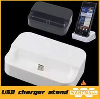 Wholesale Micro USB Charging Desktop Dock Stand Charger charging holder cradle For samsung galaxy s3 i9300 s4 i9500 note
