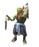 Wholesale 2015 New NECA Toy Teenage Mutant Ninja Turtles hasbroeINGlys Action Figure TMNT Model Toys For Boys Juguetes Gift