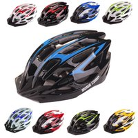 Wholesale New Arrival Vents Ultralight EPS Bicycle Helmet Outdoor Sports MTB Mountain Road Cycling Bike Helmet with Visor Colors