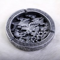 Wholesale Classic Business eagle grand plans ashtray round ornaments home decor gift SF316