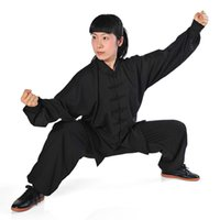 Wholesale brand high grade cotton Kam Tai chi clothing for men and women section Taijiquan martial arts acrobatics Costume