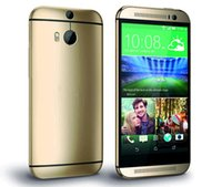 Wholesale Refurbished HTC ONE M8 Unlocked quot Quad Core GB GB ROM Android WCDMA WIFI NFC Cell Phone Refurbished HTC M8