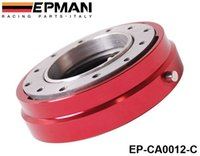 Wholesale EPMAN H Q Hot Selling Thin Version Steering Wheel Quick Release Default color is Red EP CA0012 C Red