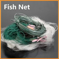 gill net - Hot Sale m Layers Monofilament Gill Fishing Net with Float Fish Trap Rede De Pesca Fishing Network Via DHL