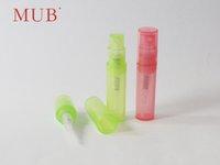 Plastic mini spray - Small Plastic Spray Bottles ml Refillable Mini Perfume Bottle Sample Size Plastic Bottles