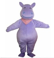 adult hippo costume - brand new Hot selling Hippo adult Mascot Costume fancy dress for Festival