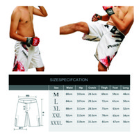Wholesale The new fighting pants MMA boxing muay Thai shorts mma trunks Sweat comfortable boxing training shorts Global