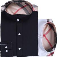 designer clothes for men - Men Shirts Designer Fake Clothing Male Dress Tops Slim Fit Shirts Formal Long Sleeve Casual Shirts For Men