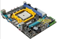 amd quad motherboard - A55 motherboard fm1 interface needle a4 x4 quad core