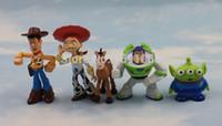 action figuren - 5pcs set Toy Story Buzz Lightyear Action Figure Doll PVC Figuren Xmas Gift