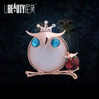 clothing manufacturers - 2016 NEW Direct manufacturers are selling Korean explosion models with adorable owl brooch brooch scarf buckle clothing f