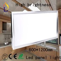 Cheap Free shipping 72W,panel 1200*600mm Led Ceiling Light Warm White White Led down Light, AC85-265V Led Square Panel Light