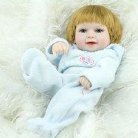Cheap Unisex Reborn Babies Doll Best 3-4 Years Vinyl 10 Inch baby doll