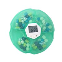 alarm suppliers - China Supplier Manufucture Round Personal Electronic Pill Box with Divider Alarm Timer