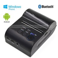 Wholesale Bluetooth Portable POS Thermal Dot Receipt Printer Battery Display for Android WP