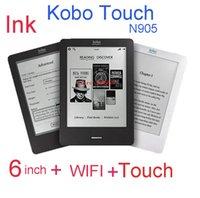 Wholesale Original ebook Kobo touch screen kobo N905 WiFi Ebook Reader GB GHz e book ereader e ink Eink screen e reader