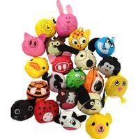 Wholesale Cute Cartoon Foldable Canvas Shopping Gift Cute Useful Animal Foldable Eco Reusable Shopping Bags ak059