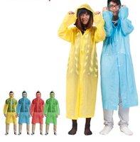 plastic raincoat - Travel Raincoats Plastic PE Adult One Time Emergency Waterproof Plastic Cloth Disposable Raincoat Easy to carry Pocket tour Raincoats gift