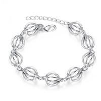 asian lanterns - Hot sale christmas gift silver Lantern Bracelet DFMCH357 Brand new fashion sterling silver Chain link bracelets high grade