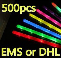 Wholesale In Stock cm Rainbow Stick Glow Stick Light Environmental Bar Birthday Celebration Concert Stick Led Rave Toy