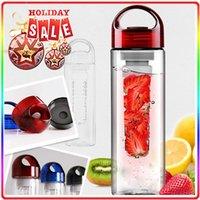 plastic bottle water bottle - Tritan sports fruit water bottle plastic cup outside sport lemon emperorship fruit cup
