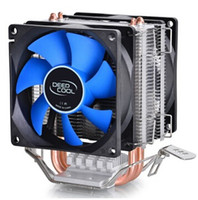 cpu processor intel - CPU cooler mm fan heatpipe tower side blown Intel LGA AMD AM2 AM3 FM1 FM2 CPU radiator