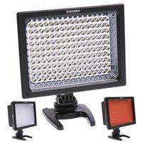 Wholesale YONGNUO YN s LED Video Light Camera Light Photo Lighting Bulb K for Canon Nikon Panasonic SLR Camera Black Color
